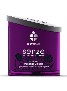 Bougie de massage Spiritual Senze Swede Pamplemousse - 150 ml