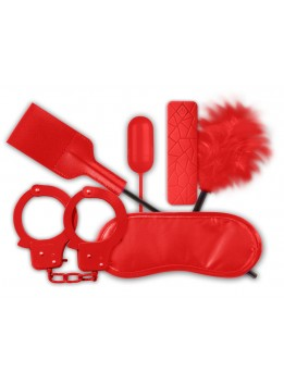 Coffret Fetish BDSM Soft Rouge