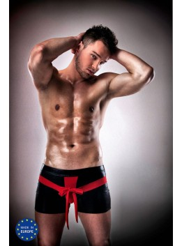 Boxer noeud rouge 001 - S-M